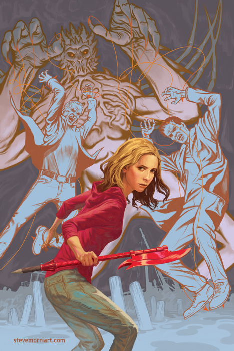 Buffy the Vampire Slayer season 10 TPB 4 cover.