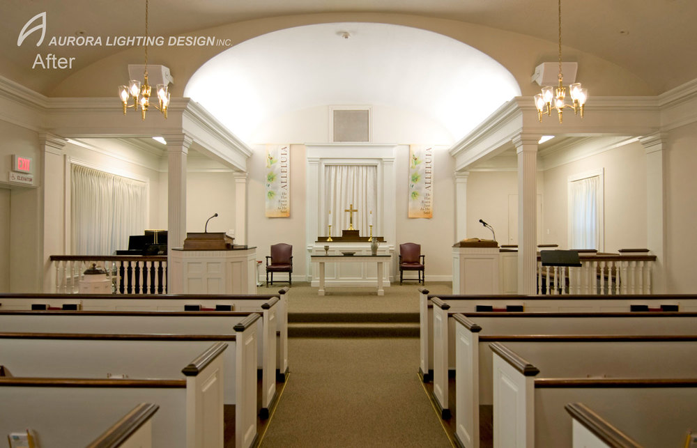 Photographer Aurora Lighting Design Inc. & Community Protestant Church Sanctuary u2014 Aurora Lighting Design Inc. azcodes.com