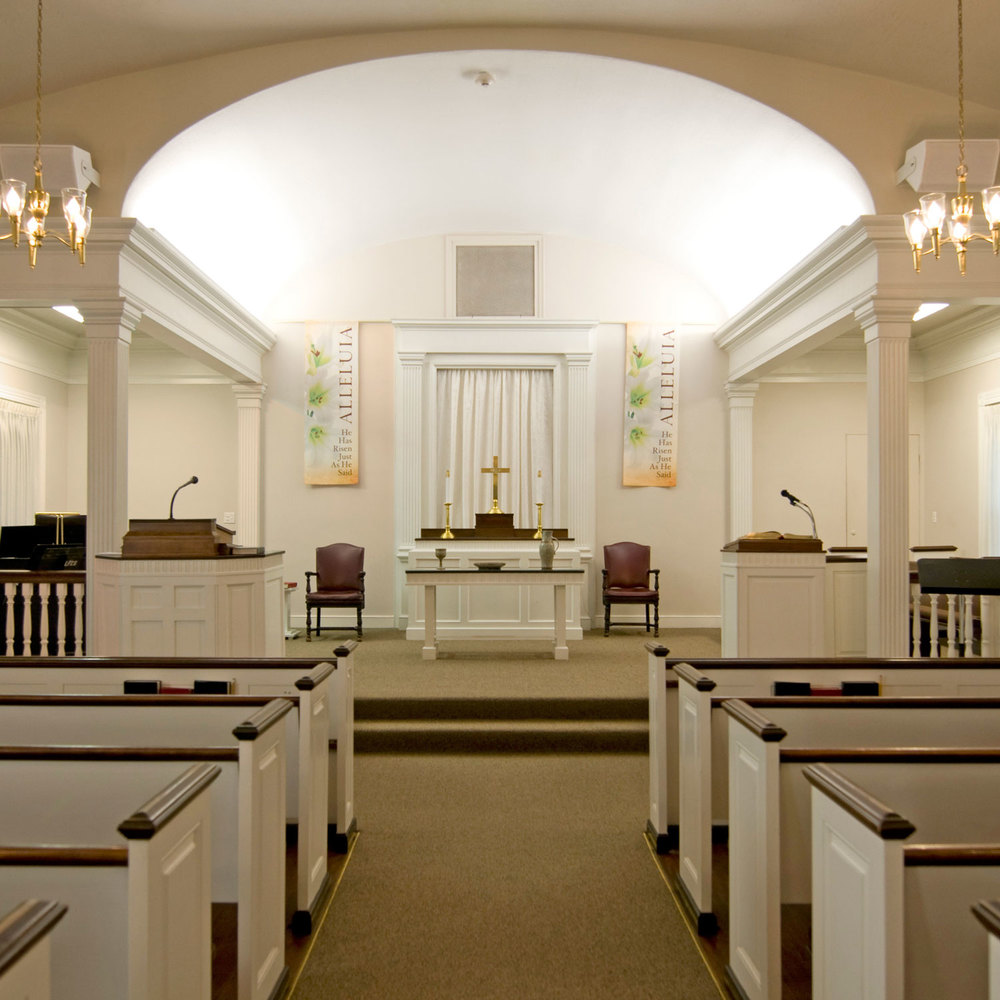 Community Protestant Church Sanctuary