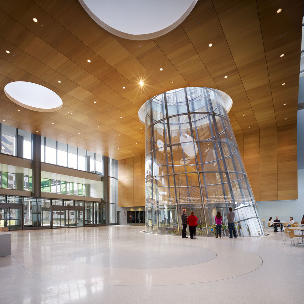 Rush University Medical Center Entry Pavilion