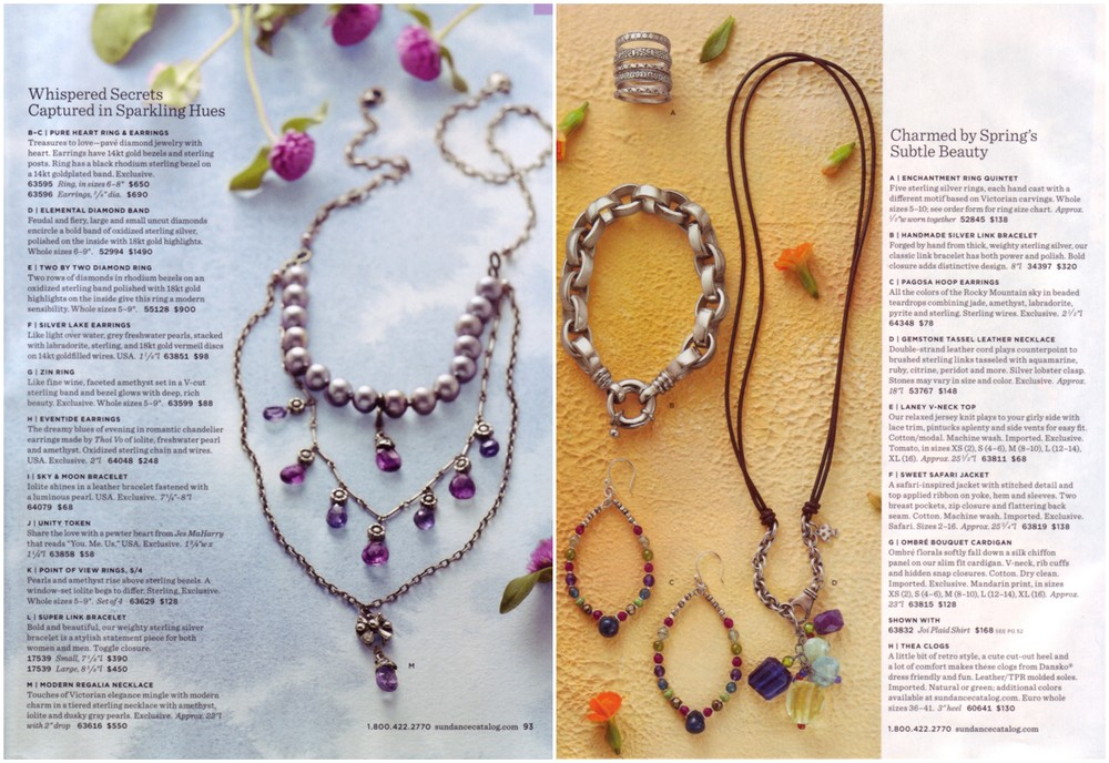 Catalog Headlines, Jewelry