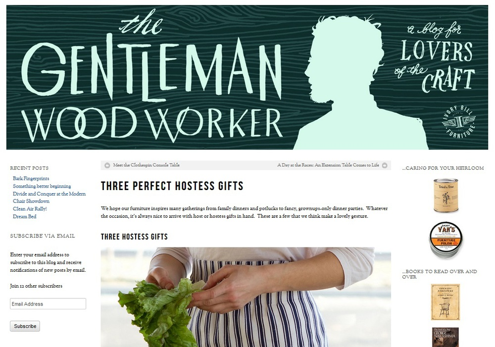 The Gentleman Woodworker