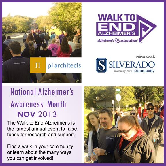 Pi Architects Alzheimer's Awareness Month