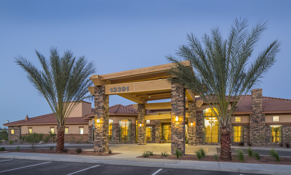 Pi Architects Peoria Memory Care Entry.jpg
