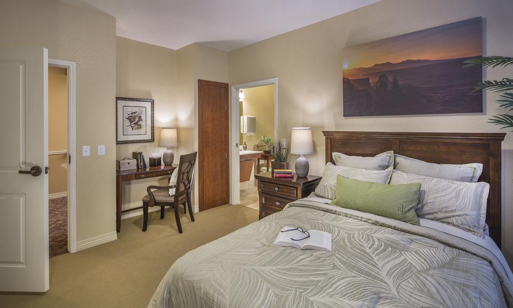Silverado Care Resident Room