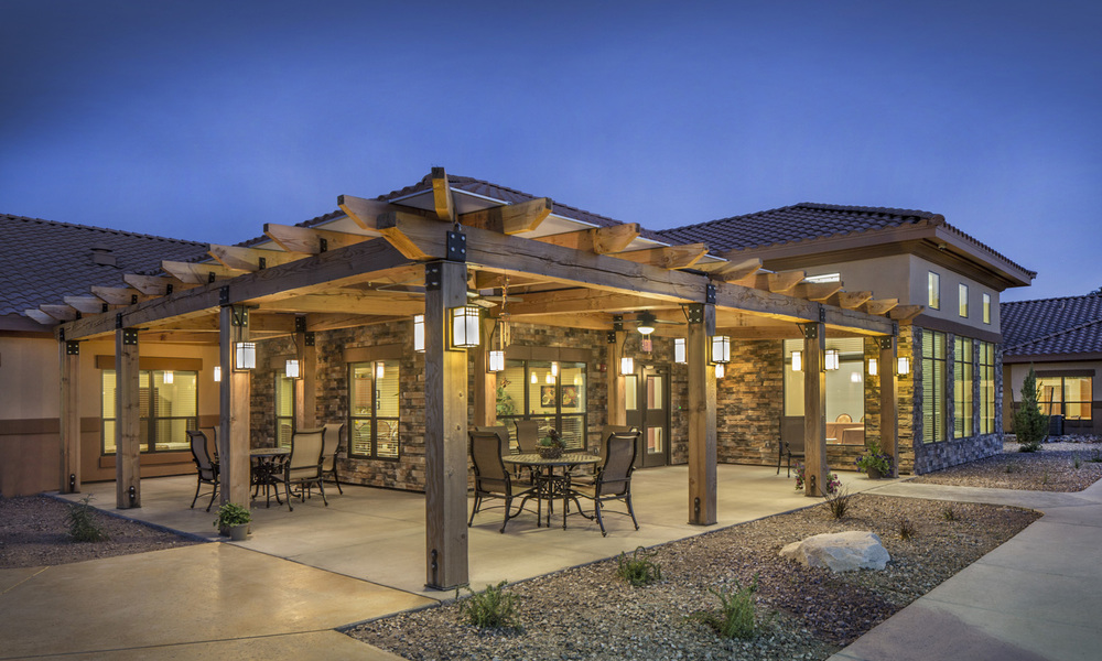 Pi Architects Peoria Memory Care Courtyard Seating.jpg