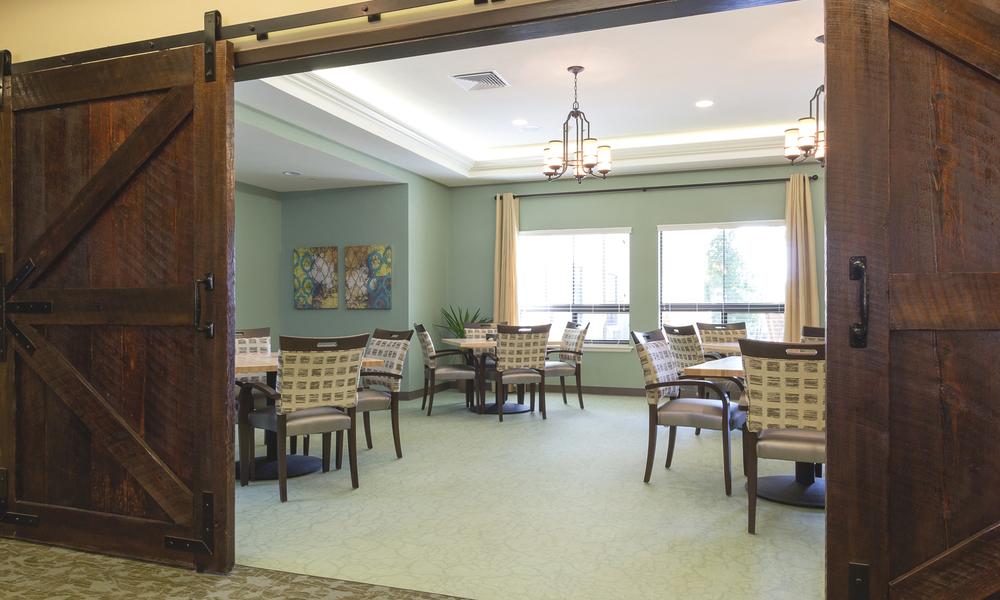 Shavano Park Senior Living Dining Room