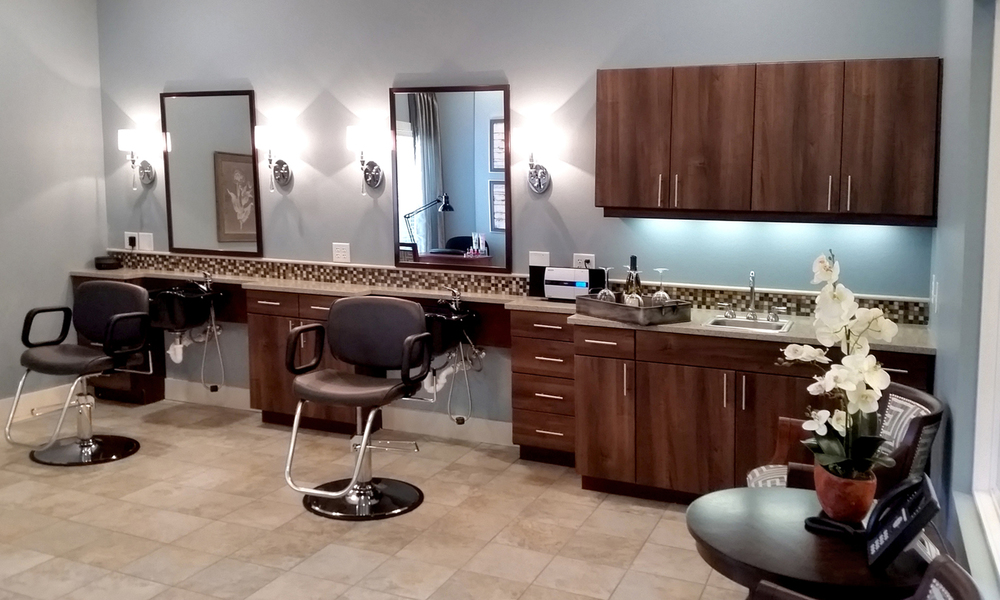 Heartis Arlington Texas Pi Architects  Beauty Salon