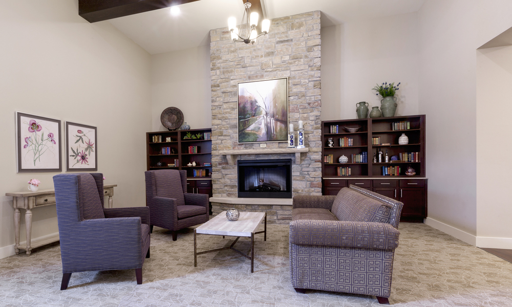 Heartis Arlington Texas Pi Architects Small Seating Area