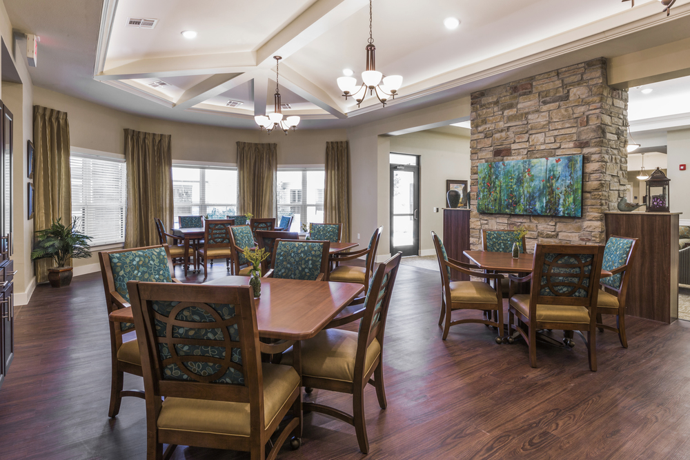 Heartis Arlington Texas Pi Architects Dining Room