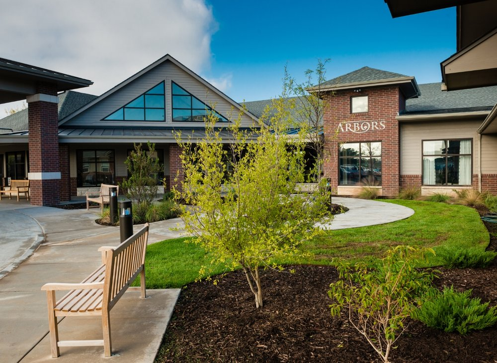 The Arbors Main Entrance Skilled Nursing and Rehabilitation