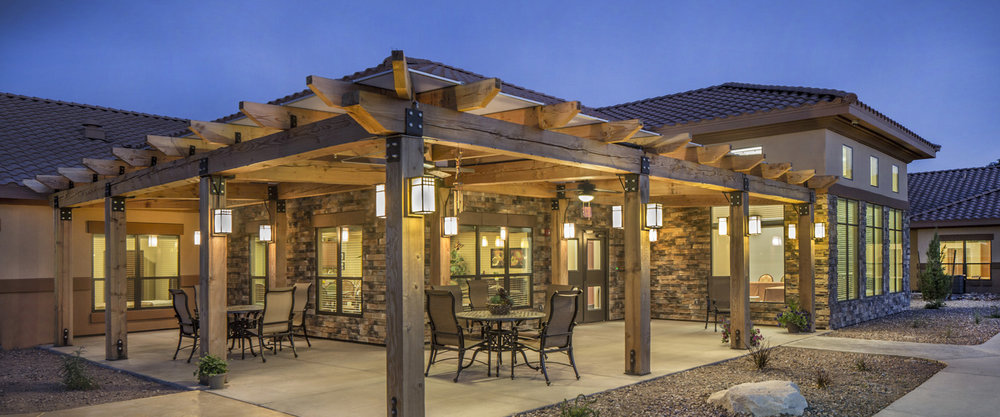 Pi Architects Peoria Memory Care Courtyard Seating Pi Architect Services.jpg