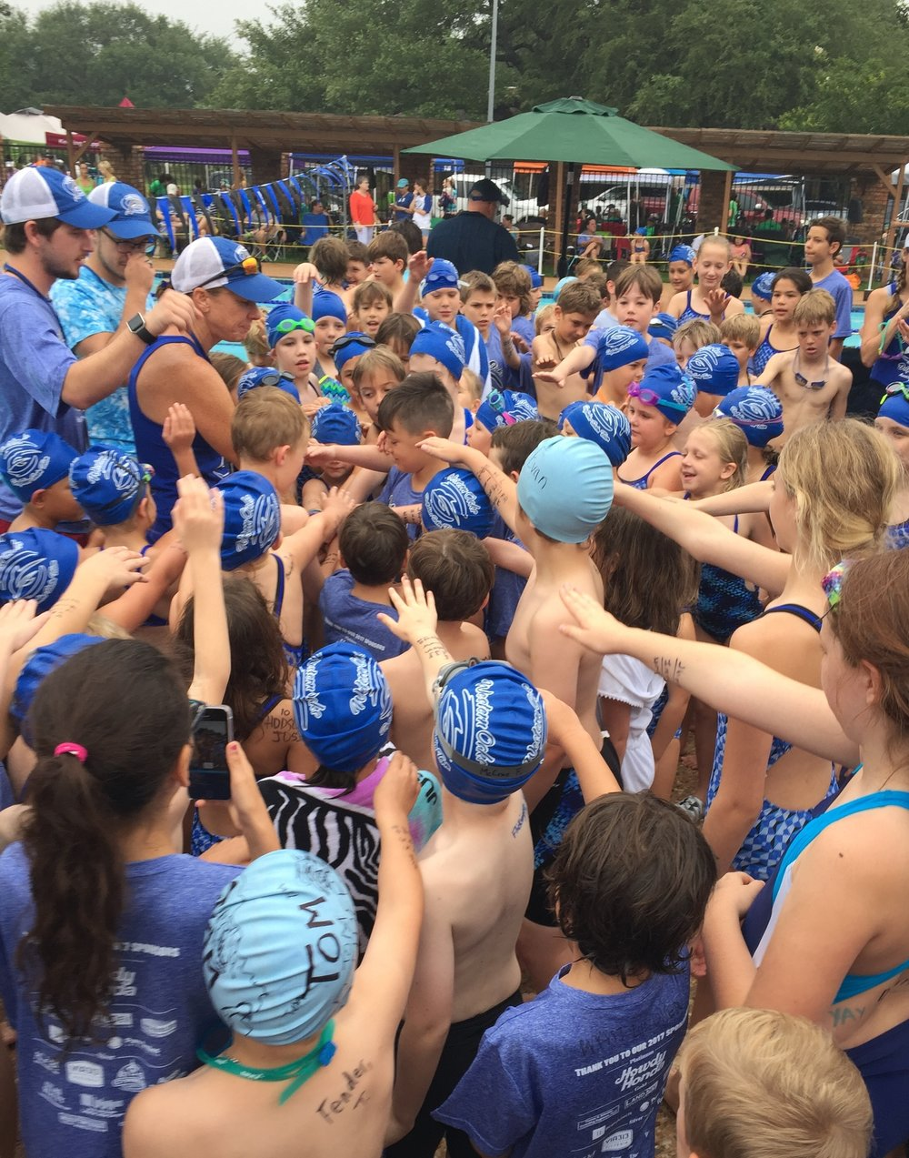 Pi Architects is proud to sponsor the Western Oaks Swim Team in Austin, Texas. Youth swimmers of all ages come together each summer to compete, build friendships, and build confidence in the water. Most importantly they learn important life skills such as teamwork and good sportsmanship.
