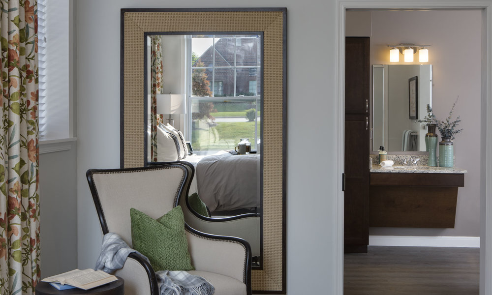 Stonecrest of Troy Model Room Mirror Pi Architects Assisted Living Memory Care.jpg