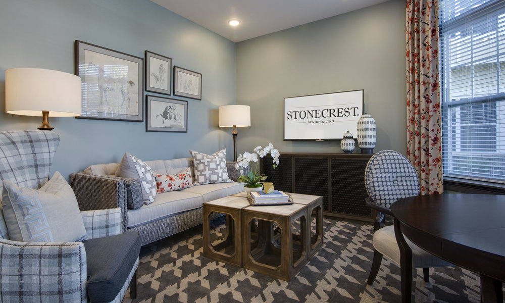 Stonecrest of Troy Small Living Room
