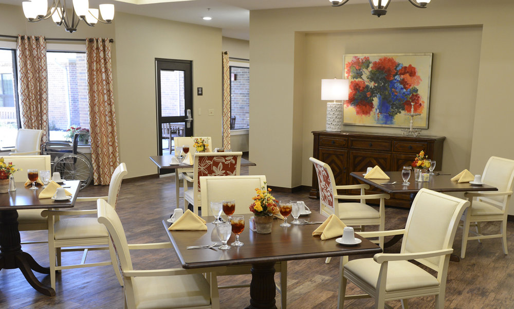 Sycamore Memory Care Center Amarillo Texas Pi Architects Dining Room