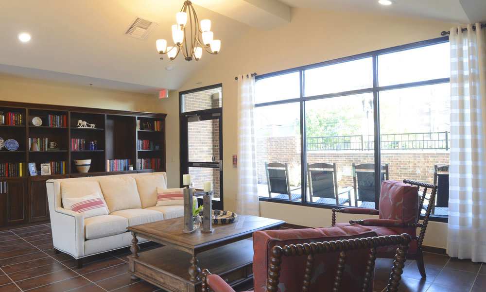 Sycamore Memory Care Center Amarillo Texas Pi Architects Living Room