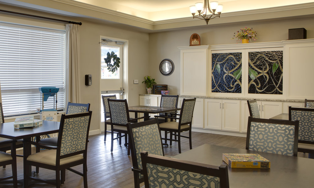 The Pointe at Lifespring Knoxville TN Activity Room