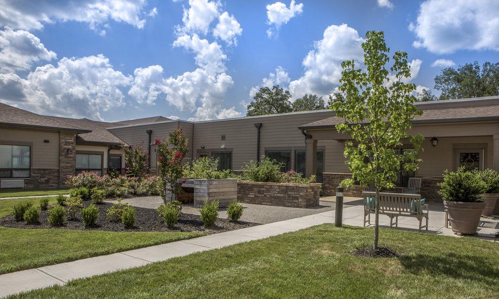 Pi Architects Meridian Knoxville TN AL MC Flower Beds.jpg
