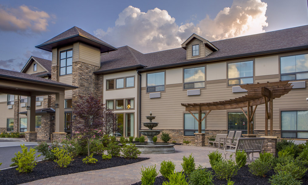 The Pointe at Lifespring Knoxville TN Front Entry Gardens