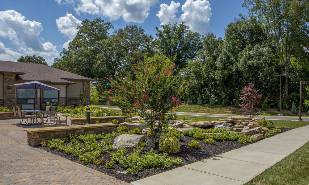 The Pointe at Lifespring Knoxville TN Walkways