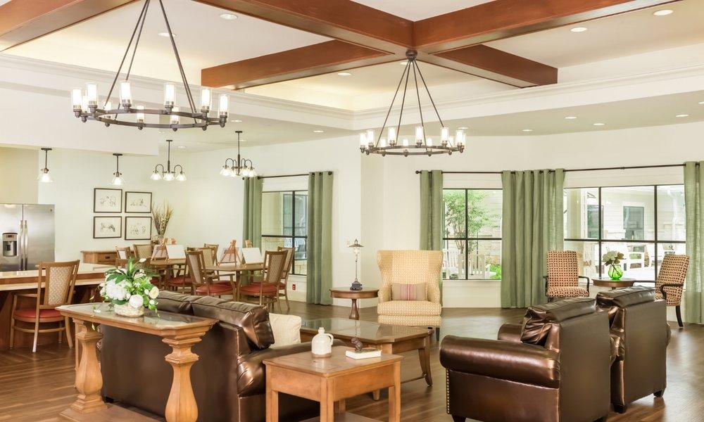 Pi Architects SPJST Living Room