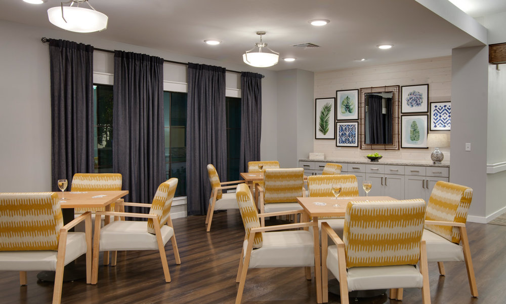 Assisted Living Card Room
