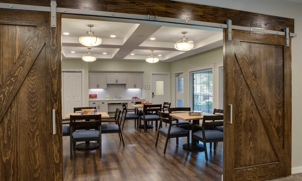Assisted Living Game Room