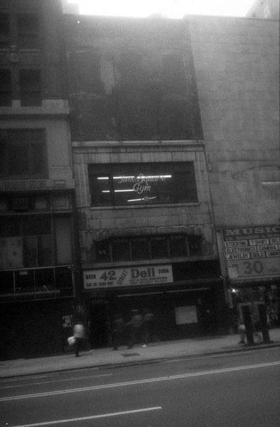 Exterior / Times Square Gym Exterior, 1993