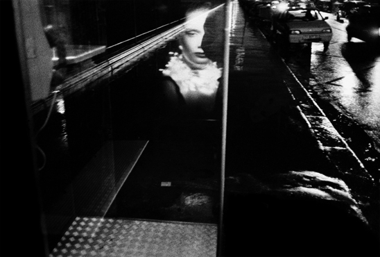 Reflection of a woman, Paris, 1999