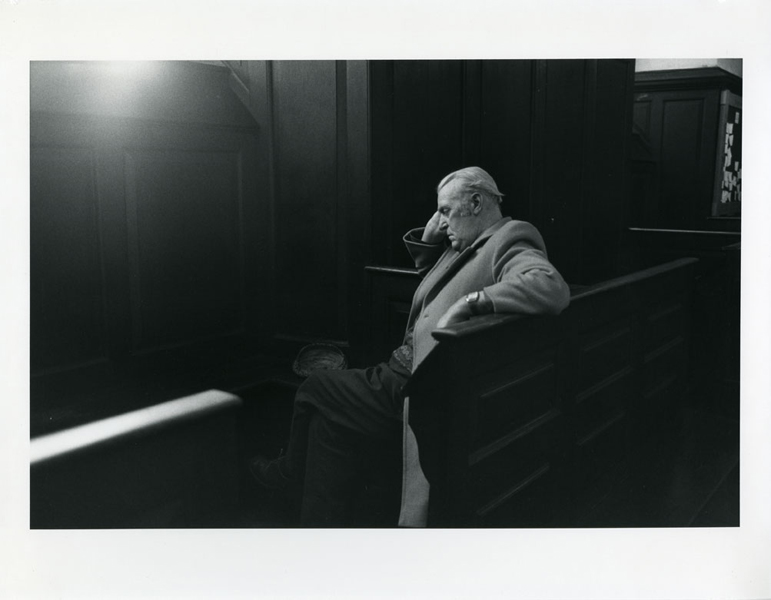 Untitled (Seated Man with Cap), 1996