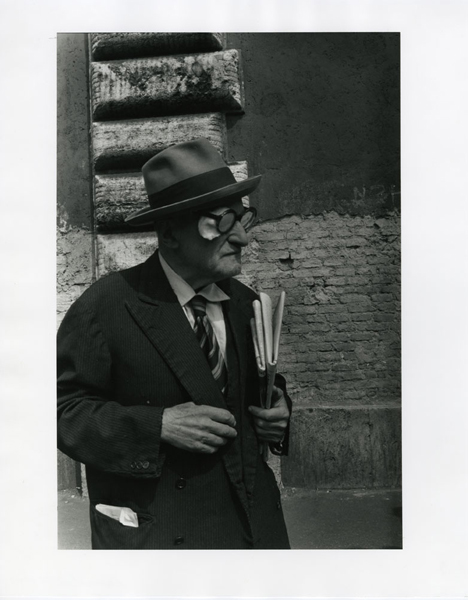 Untitled (Man with Newspaper), 1994