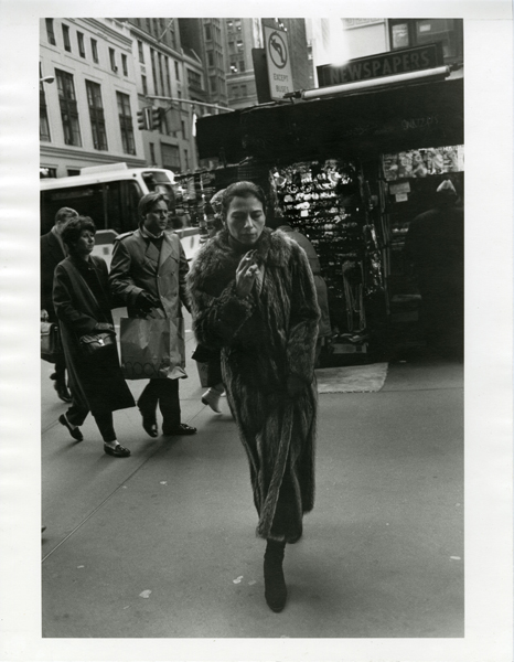 Untitled (Woman in Fur), 1994