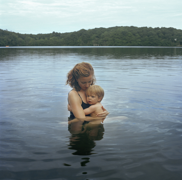 Self Portrait with Nicholas (lake), 2009