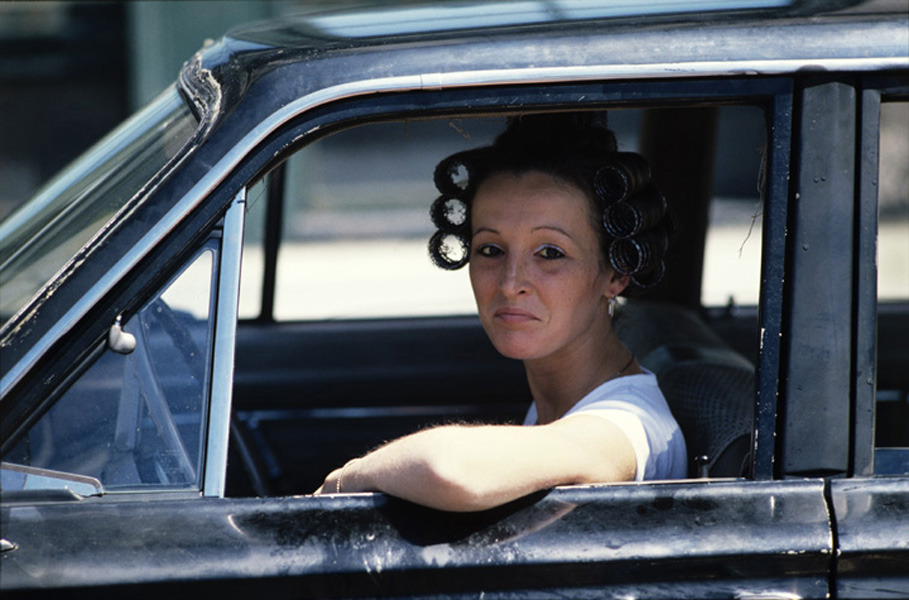 Woman Driver / South Boston, June 1973