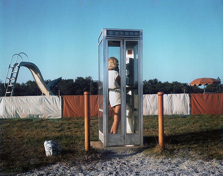 Woman / Phone Booth / Truro,  1980