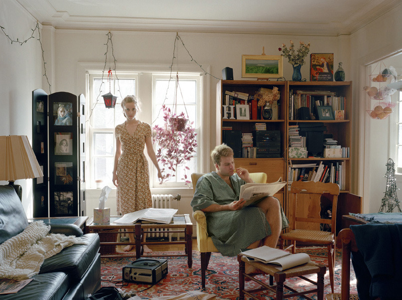 Self Portrait with Christopher (Rochester), 2004
