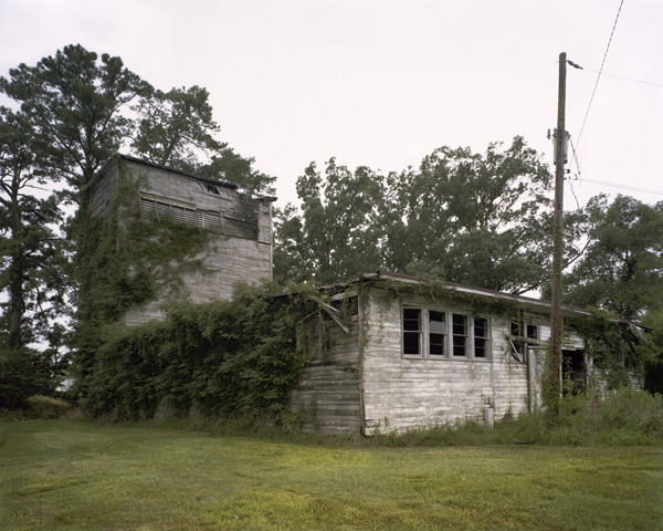 Camp Edenton, Northeastern Regional Airport, Edenton, North Carolina, 2009 Archival pigment print on Museo Silver Rag paper, mounted