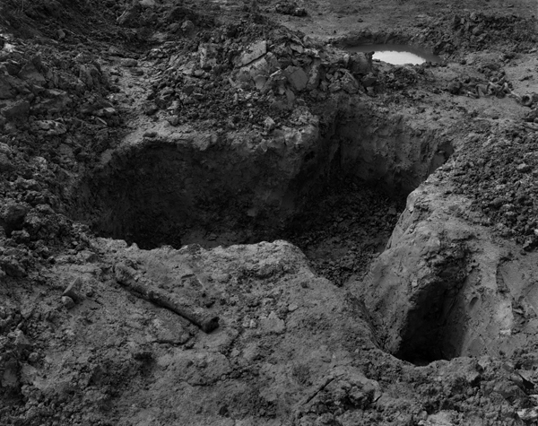 Excavation site, International Trench, Ypres (Ieper), 2008