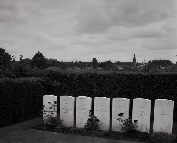 Wilfred Owen's Grave, Ors, France, 2008