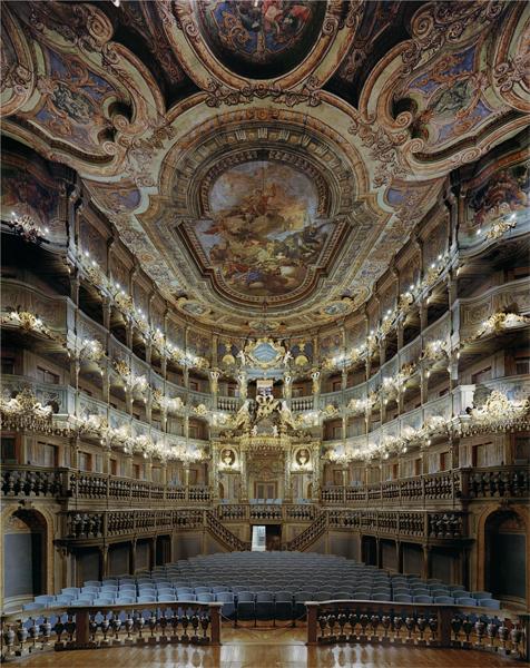 Markgräfliches Opernhaus, Bayreuth, Germany, 2008