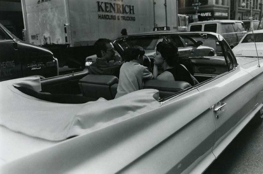Family in Car, 8th Avenue, 1998
