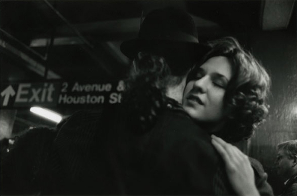 Subway Couple Houston Street, 2012