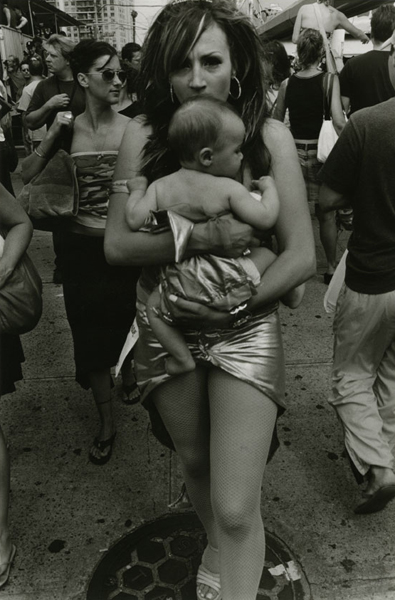 Mother Holding Child, Coney Island, 2005