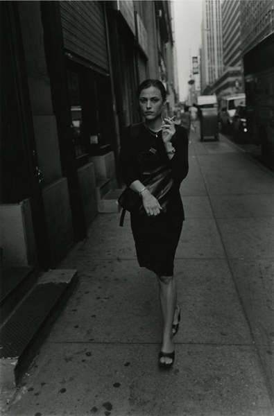 Elegant Woman with Cigarrette, 2005