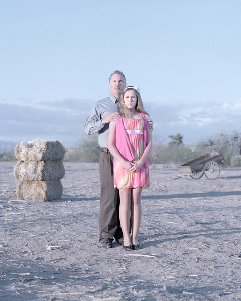 Tom Cortes & Calee Cortes, 12 years. Surprise, Arizona.