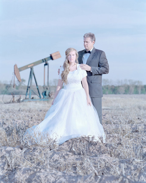 Rose Smoak, 16 years & Randall Smoak. Dixie, Louisiana., 2011