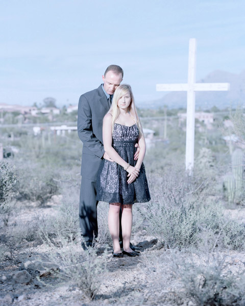 Will Roosma & Nicole Roosma, 17 years. Tucson, Arizona., 2011