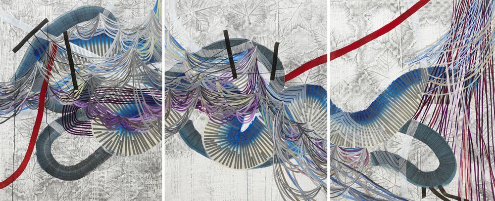 Mirage (Triptych), 2015