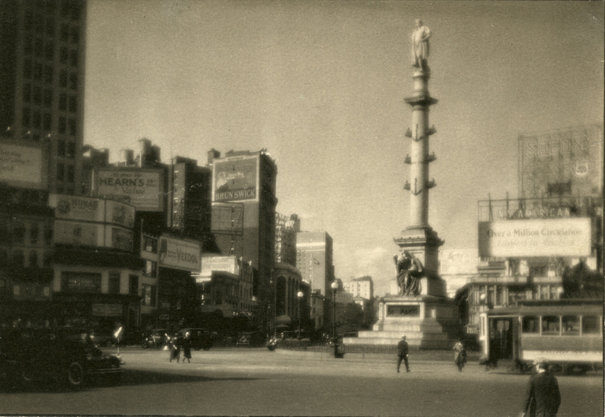 Untitled (Columbus Circle), 1920s-30s